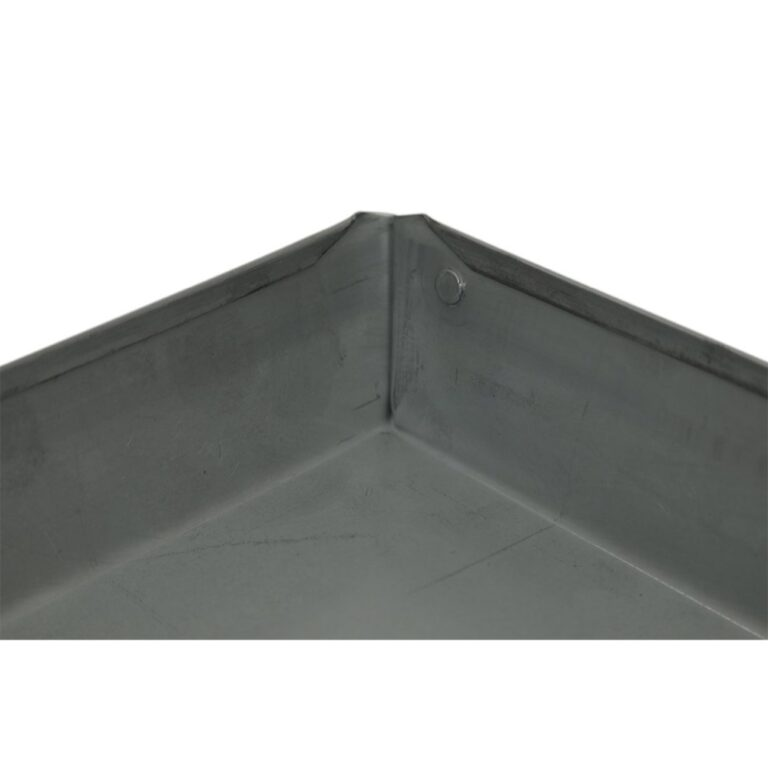 20″ x 20″ x 2″ Square Water Heater Drain Pan with 1″ Adapter
