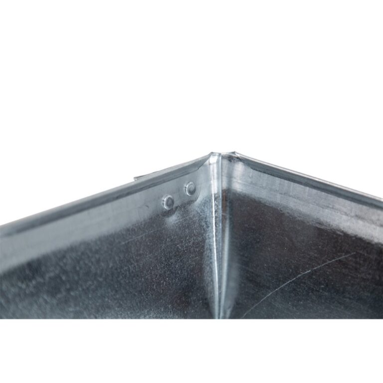 """24″ x 24″ x 4"""" Square Water Heater Drain Pan with 1″ Adapter"""
