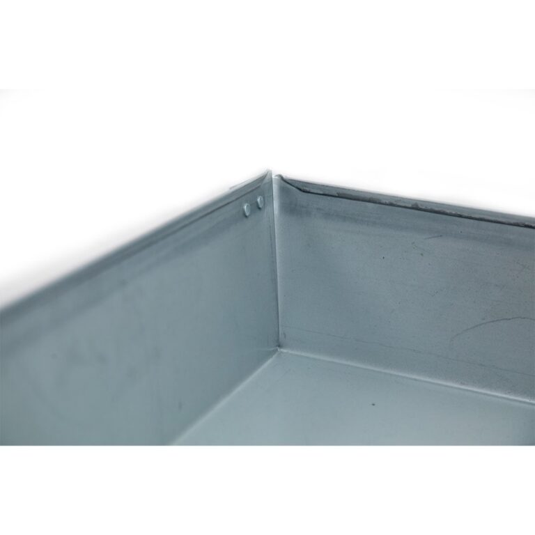 "30″ x 30″ x 4"" Square Water Heater Drain Pan with 1″ Adapter"