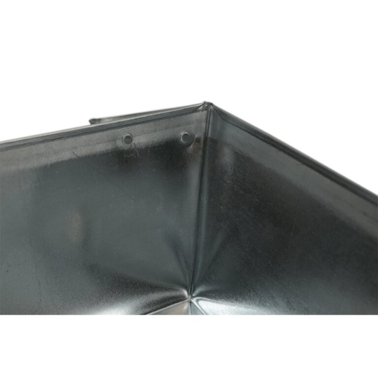 """20″ x 20″ x 6"""" Square Water Heater Drain Pan with 1″ Adapter"""
